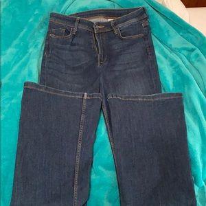 H&M dark wash bell bottom jeans